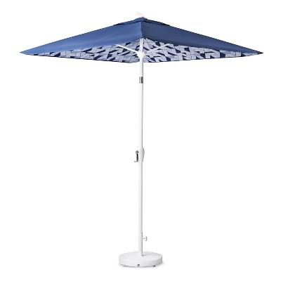 umbrella base white modern by dwell magazine - Umbrella Base