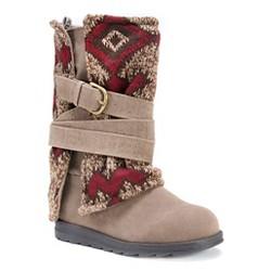 Women's MUK LUKS® Nevia Multi Strap Sweater Boots