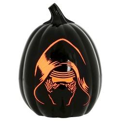 """Star Wars Kylo Ren Halloween Light Up Pumpkin 12"""""""