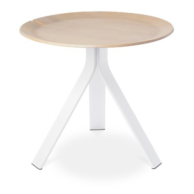 Side Table White/Natural   Modern By Dwell Magazine