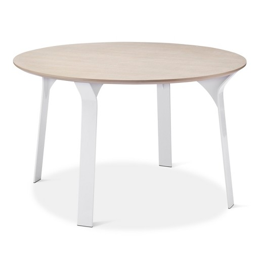 Dining Table White Natural Modern By Dwell Magazine Target