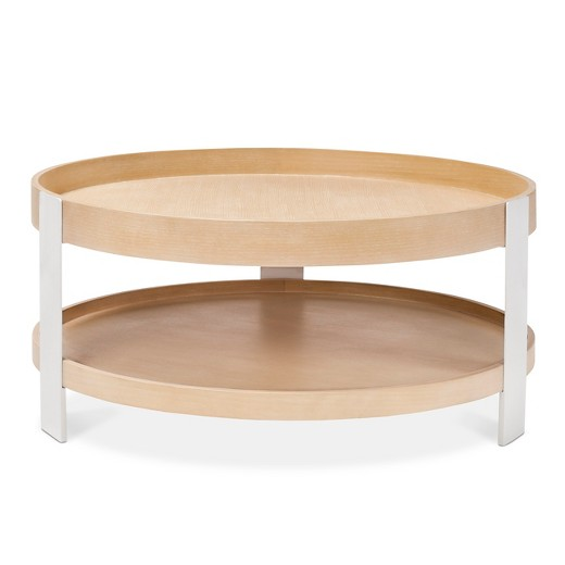 Coffee Table White Natural Modern By Dwell Magazine Target