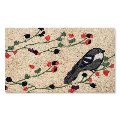 Doormat Spring Bird (1'6 x2'6 )- Threshold™