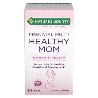 Nature S Bounty Prenatal Multi Healthy Mom Reviews