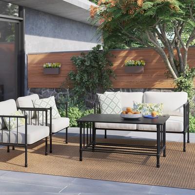 Fernhill Metal Patio Coffee Table   Threshold™
