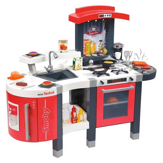 Play Kitchen smoby tefal super chef deluxe play kitchen : target