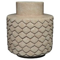 Small Ceramic Vase - Pink - Threshold. opens in a new tab.