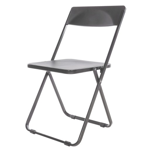 Alera Plus Folding Chair Black 4 Carton Tar