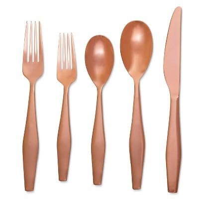 Flatware 5 pc Set Copper - Modern by Dwell Magazine