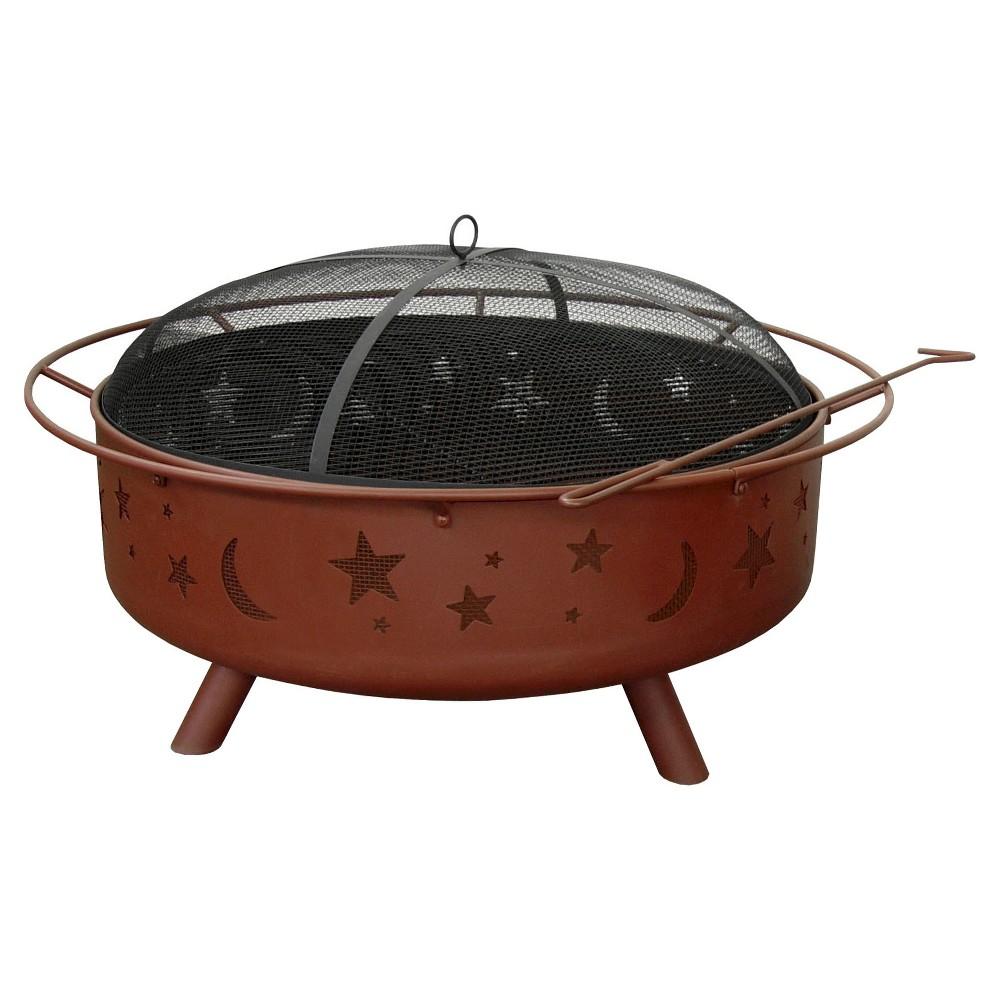 Landmann Usa 32 75 In W Black Steel Wood Burning Fire Pit 28925 From