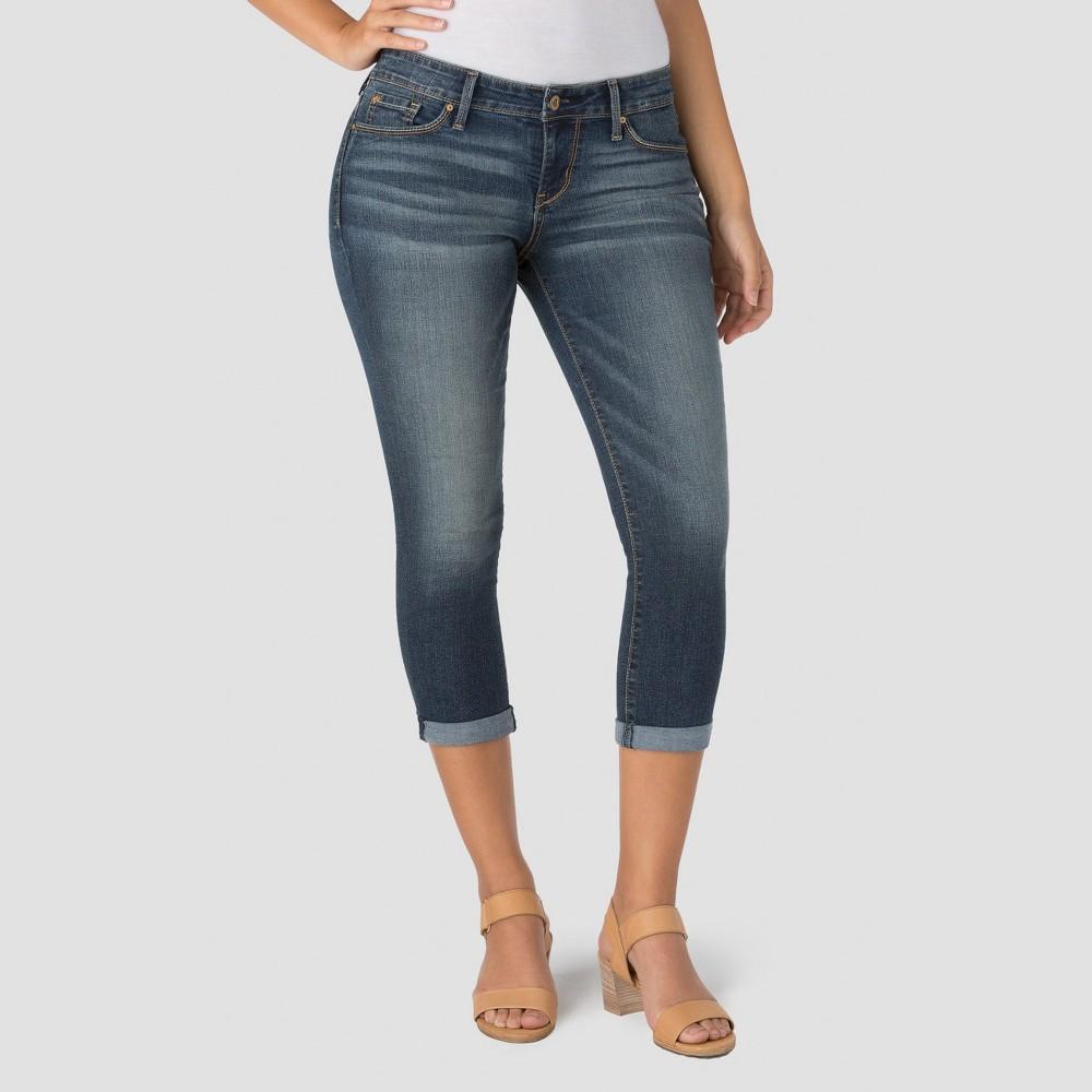 Denizen from Levi's Women's Modern Crop Jeans Medium Wash 14
