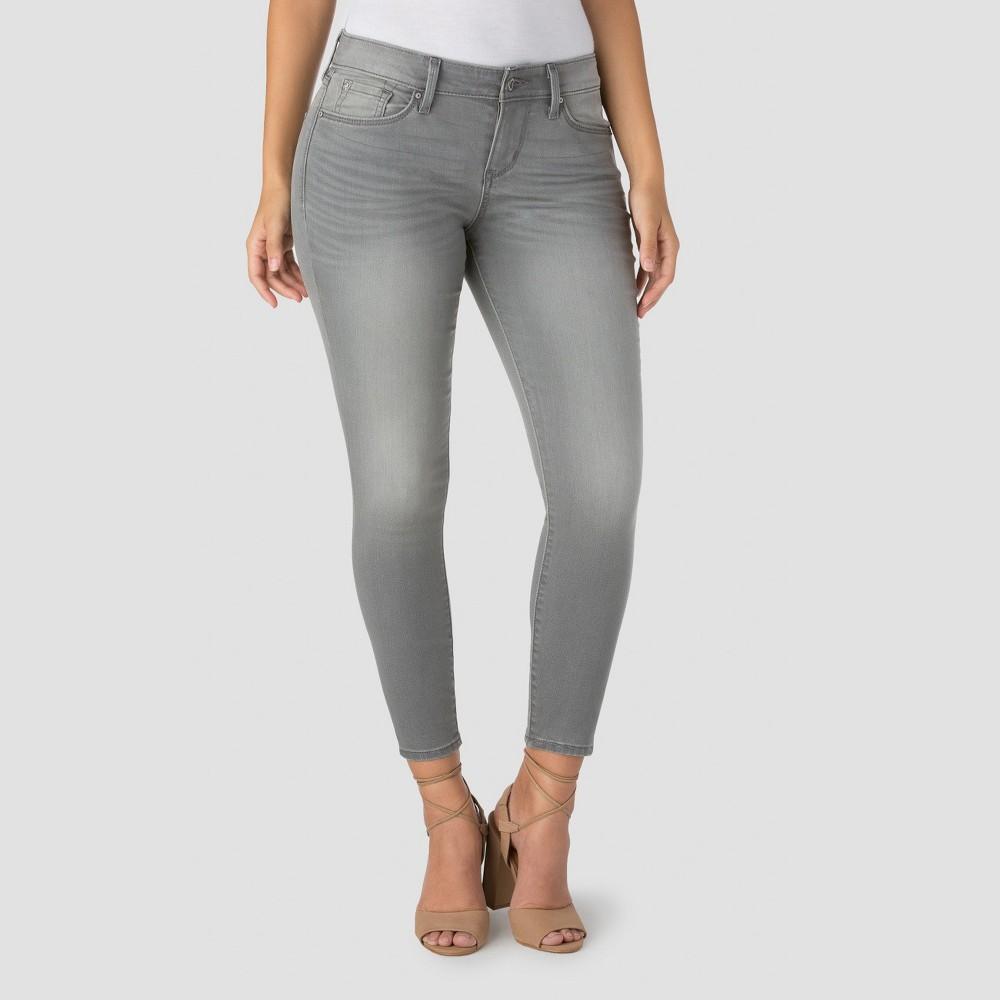 Denizen from Levi's Women's Modern Ankle Skinny Crop Jeans – Chrome – 14, Gray