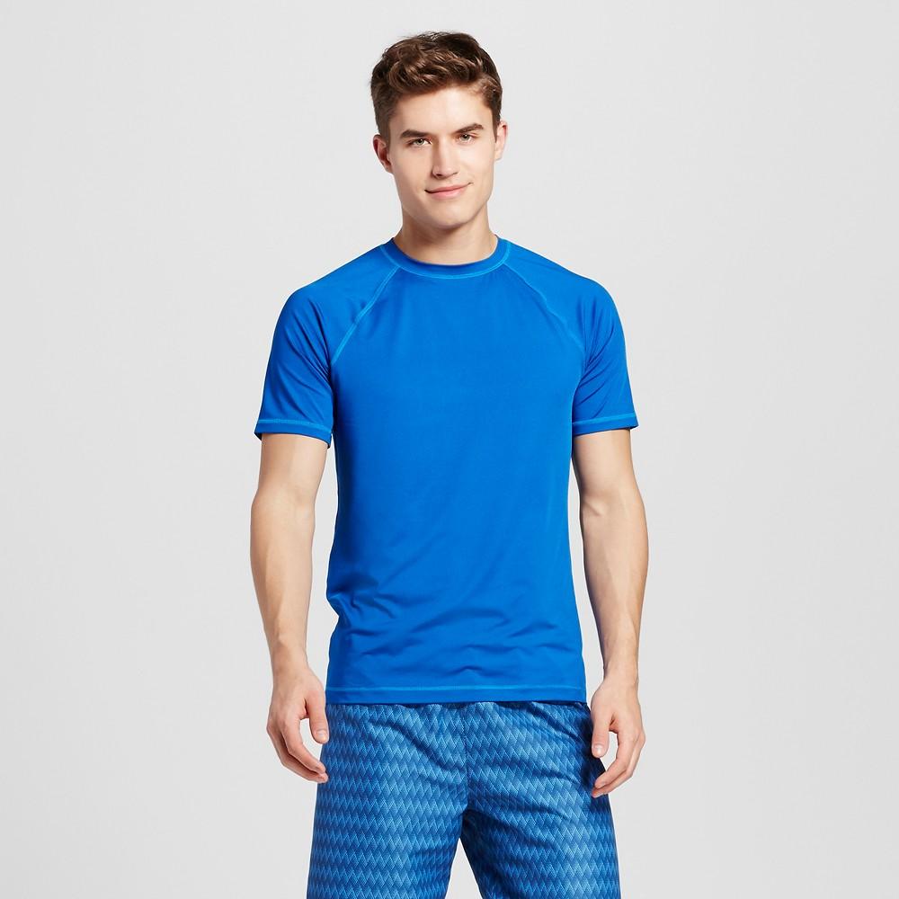 Men's Rash Guard Blue S - Mossimo Supply Co.