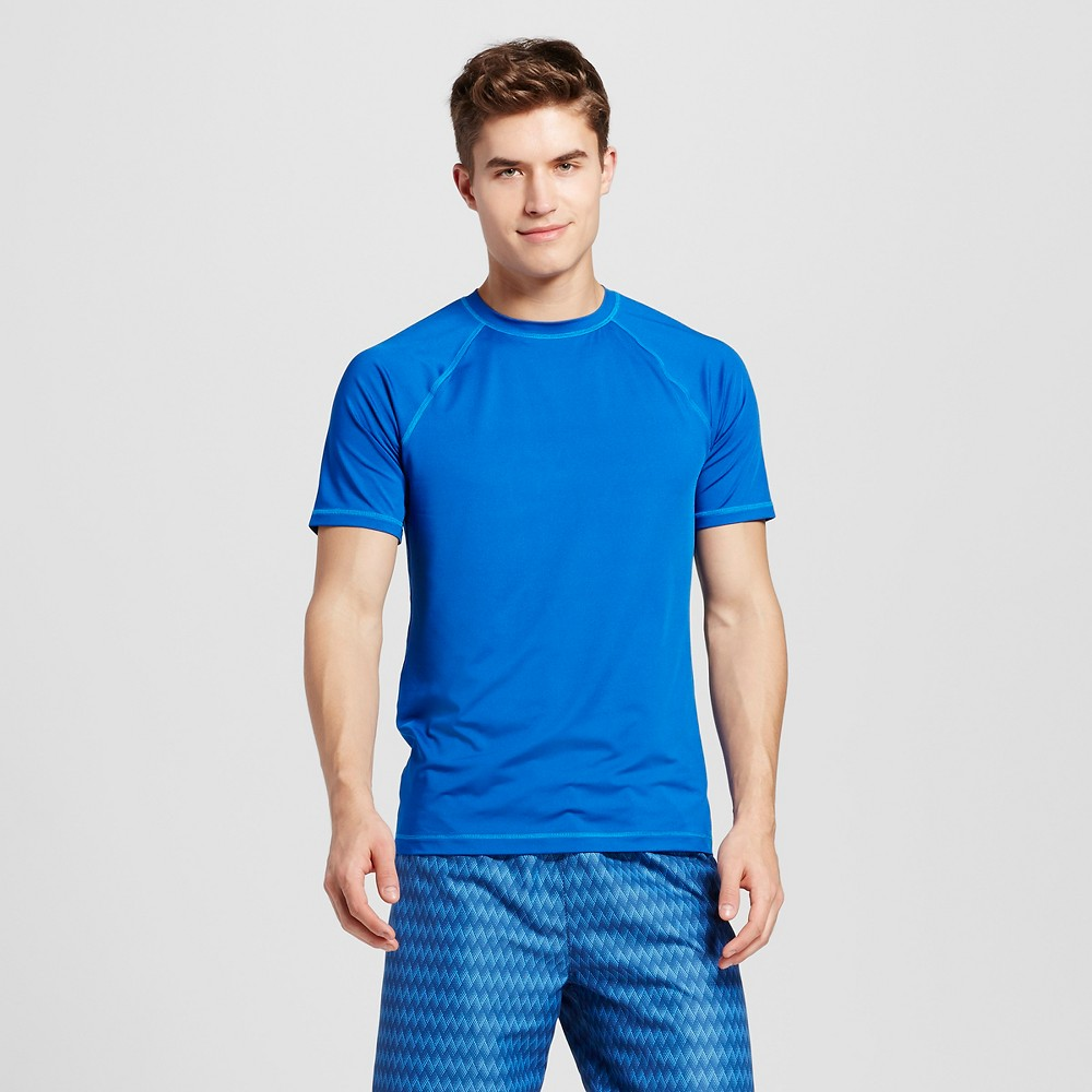 Mens Rash Guard Blue XL - Mossimo Supply Co.