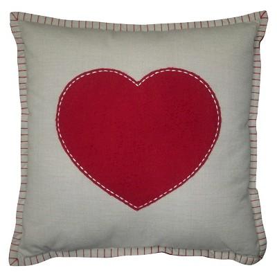 Valentine's Day Heart Pillow - Threshold™