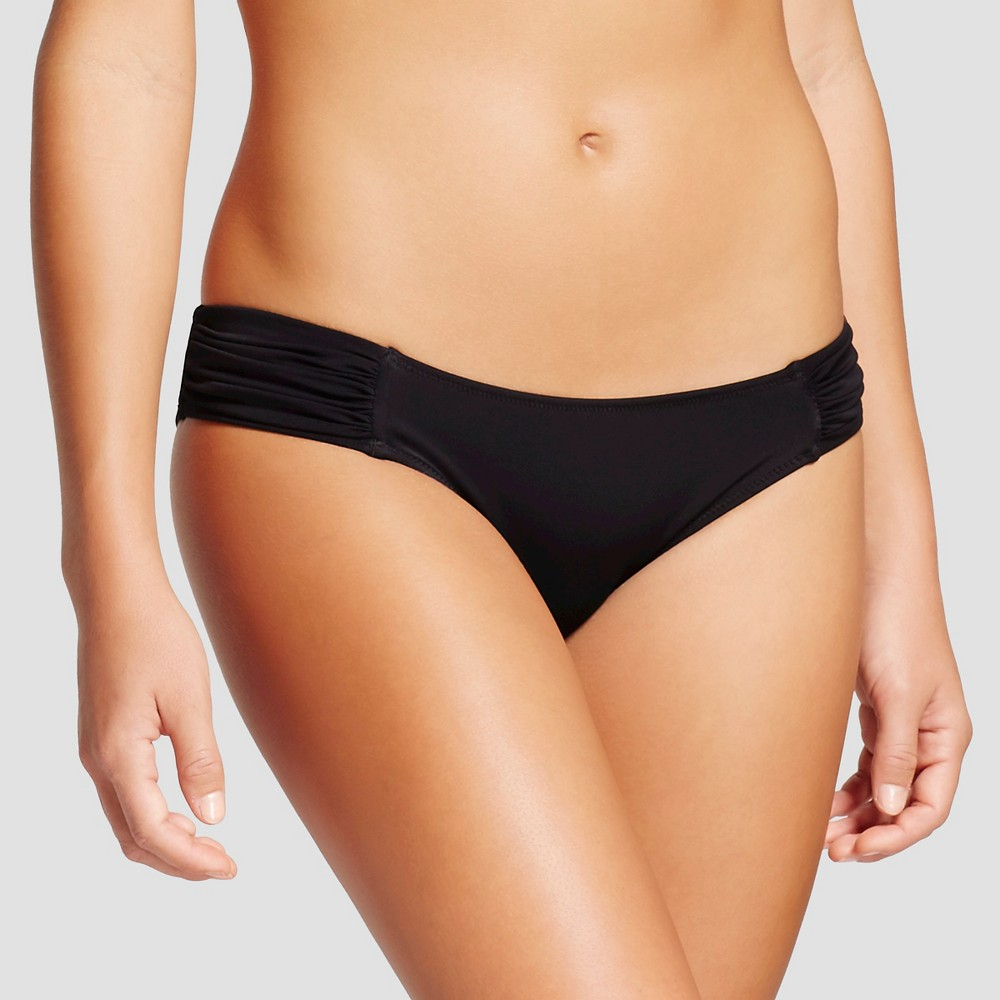 Women's Beach Hipster Bikini Bottom – Black – XS – Shade & Shore
