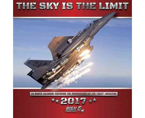 Sky Is the Limit 2017 Calendar (Paperback) - image 1 of 1