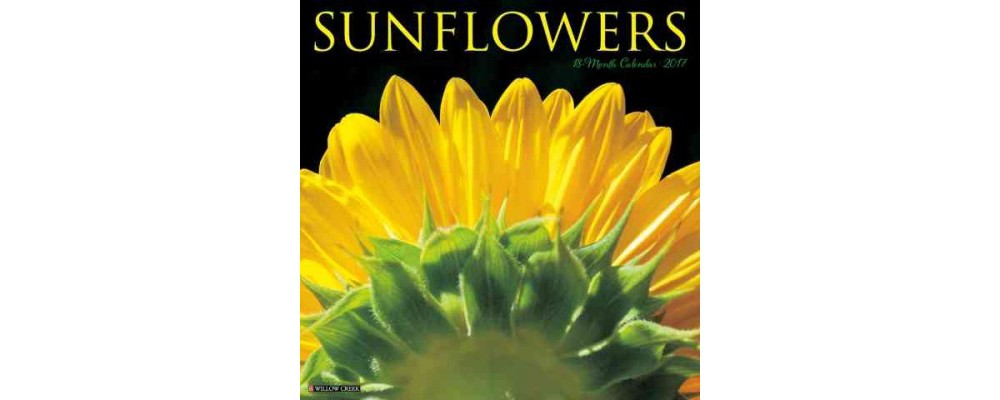 Sunflowers 2017 Calendar (Paperback)
