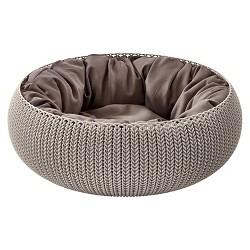 Keter Cozy Pet Bed - Brown