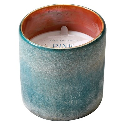 Ceramic Container Candle Pink Sands Blue 10.8oz