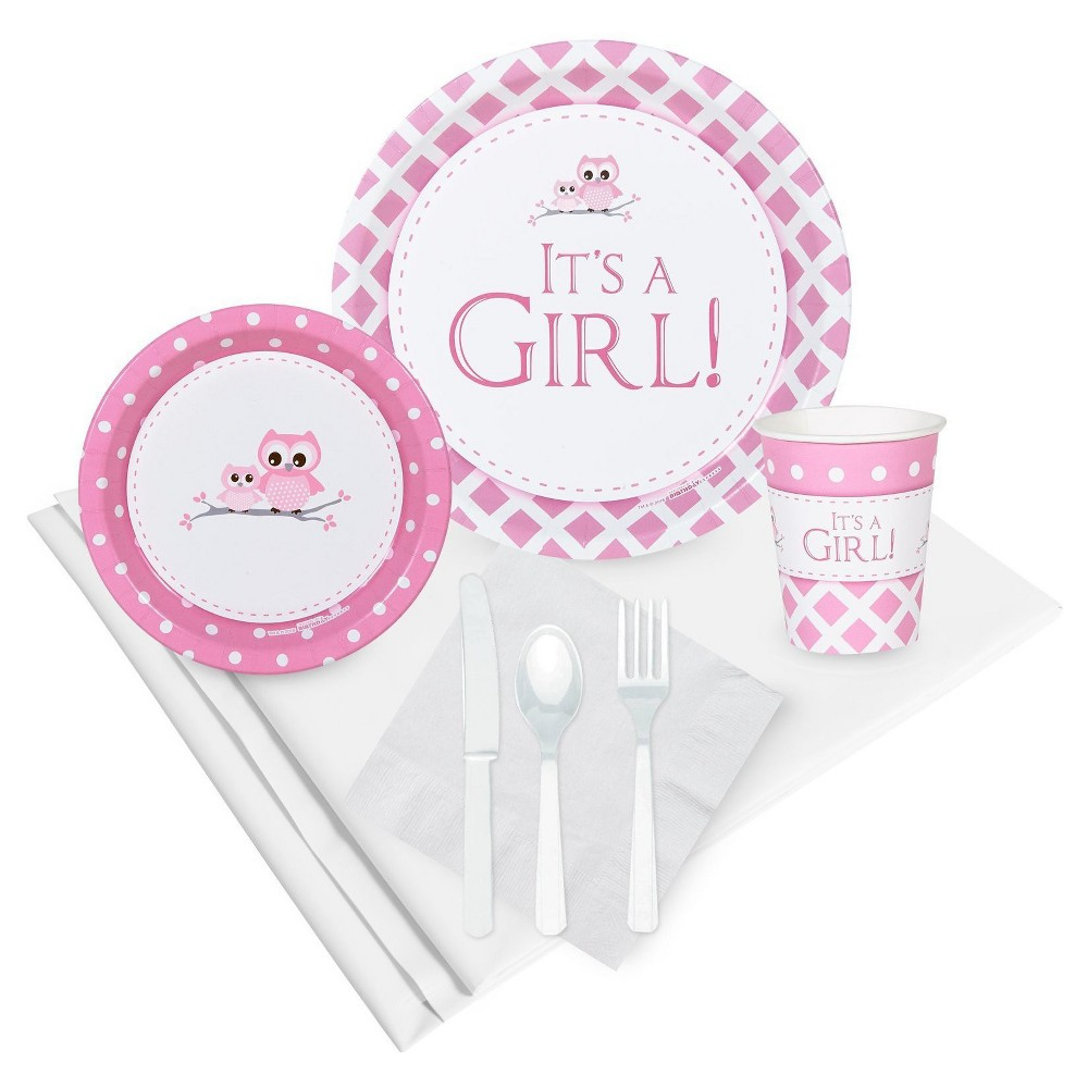 It's a Girl Party Pack, Pink