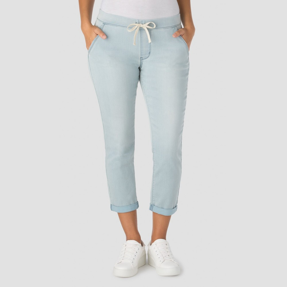 Denizen from Levis Womens Modern Lounge Crop Jeans - Light Wash M