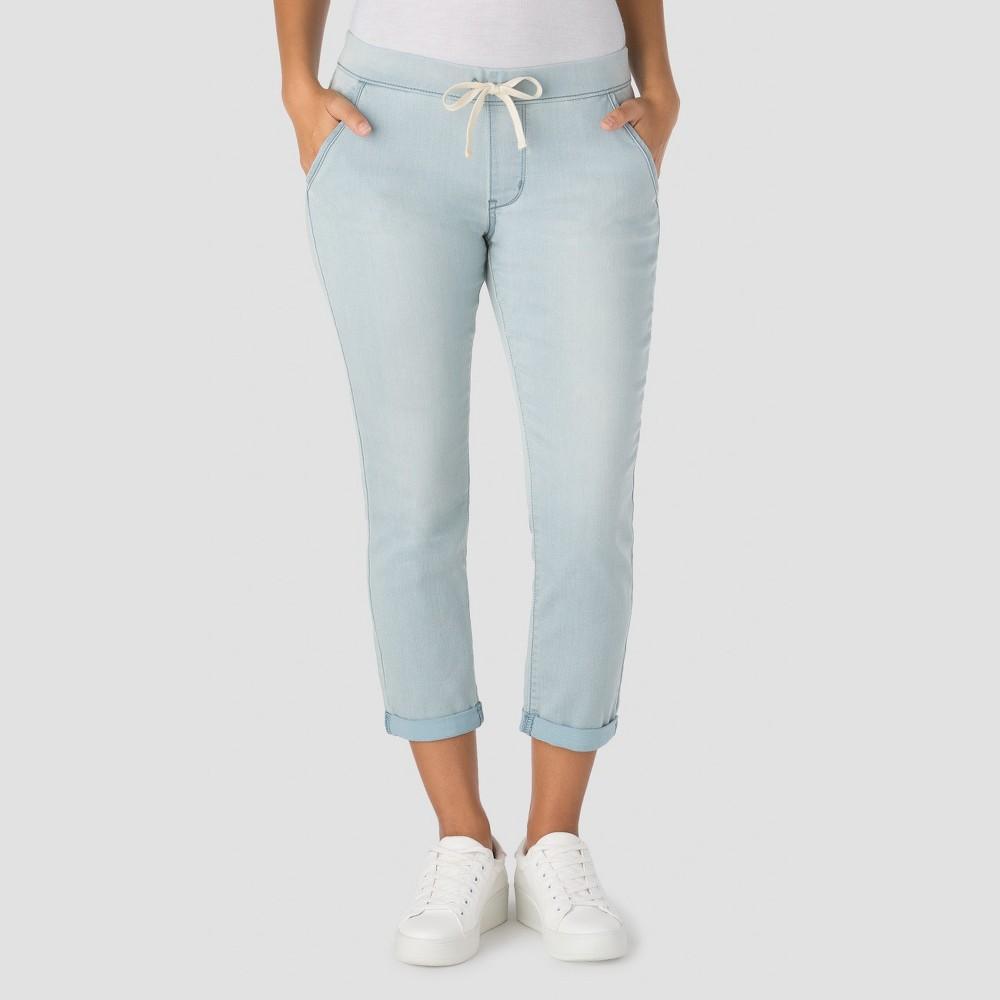 Denizen from Levis Womens Modern Lounge Crop Jeans - Light Wash L
