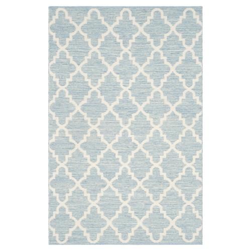 Montauk Rug - Light Blue/Ivory - (3'x5') - Safavieh