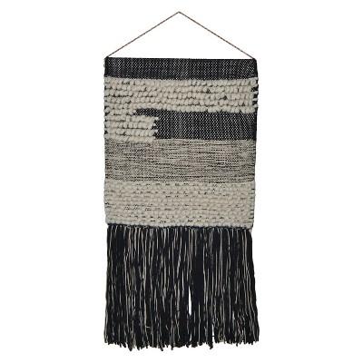 Woven Wall Hanging - Black/White - Threshold™