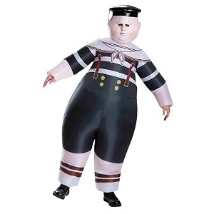 Alice Through the Looking Glass: Inflatable Tweedle Dee/Dum Adult Costume - One Size Fits Most, Multi-Colored