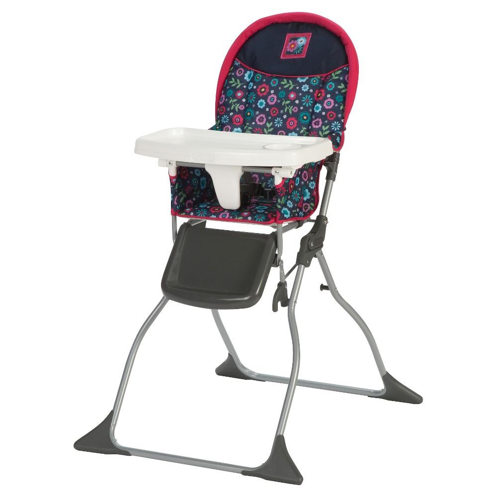 Cosco Simple Fold High Chair in Flower Garden