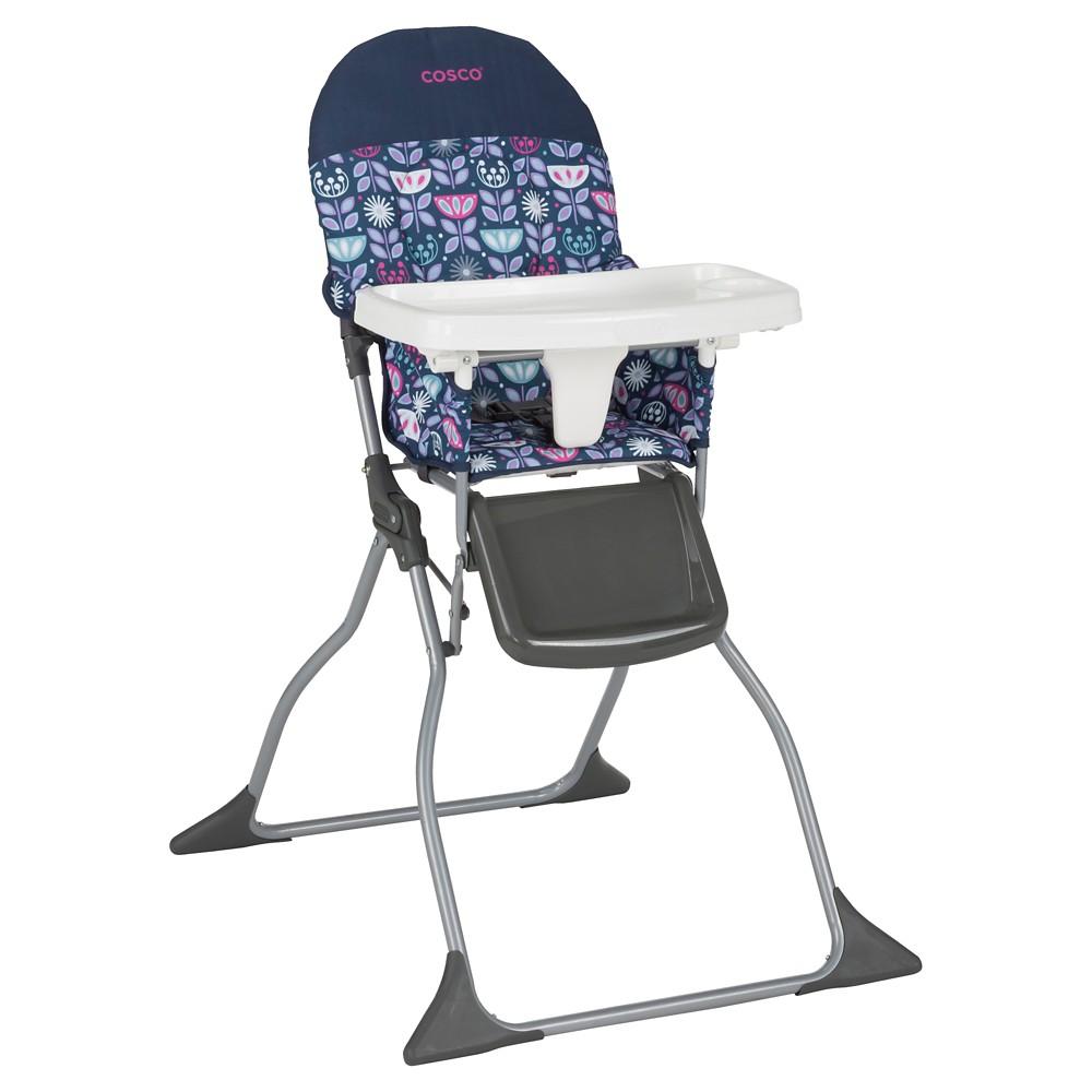 Cosco Simple Fold High Chair in Poppy Field