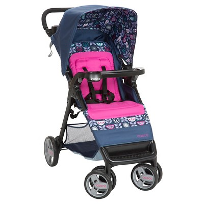 Cosco Simple Fold Stroller in Poppy Field