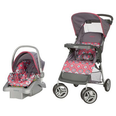 Cosco Lift & Stroll Travel System in Posey Pop