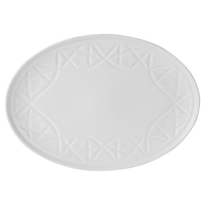 Robert Gordon® Hardware Lane 12x8in Oval Serving Platter White