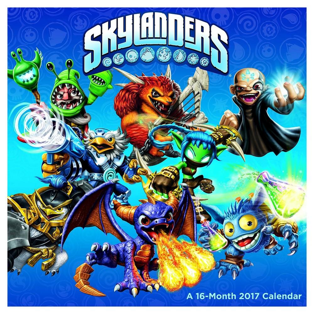 Skylanders 2017 Calendar, Books
