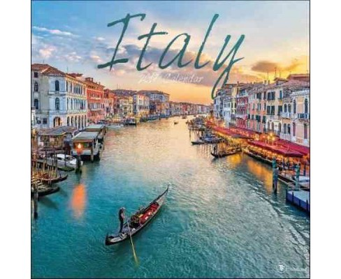 Italy 2017 Calendar (Paperback) - image 1 of 1