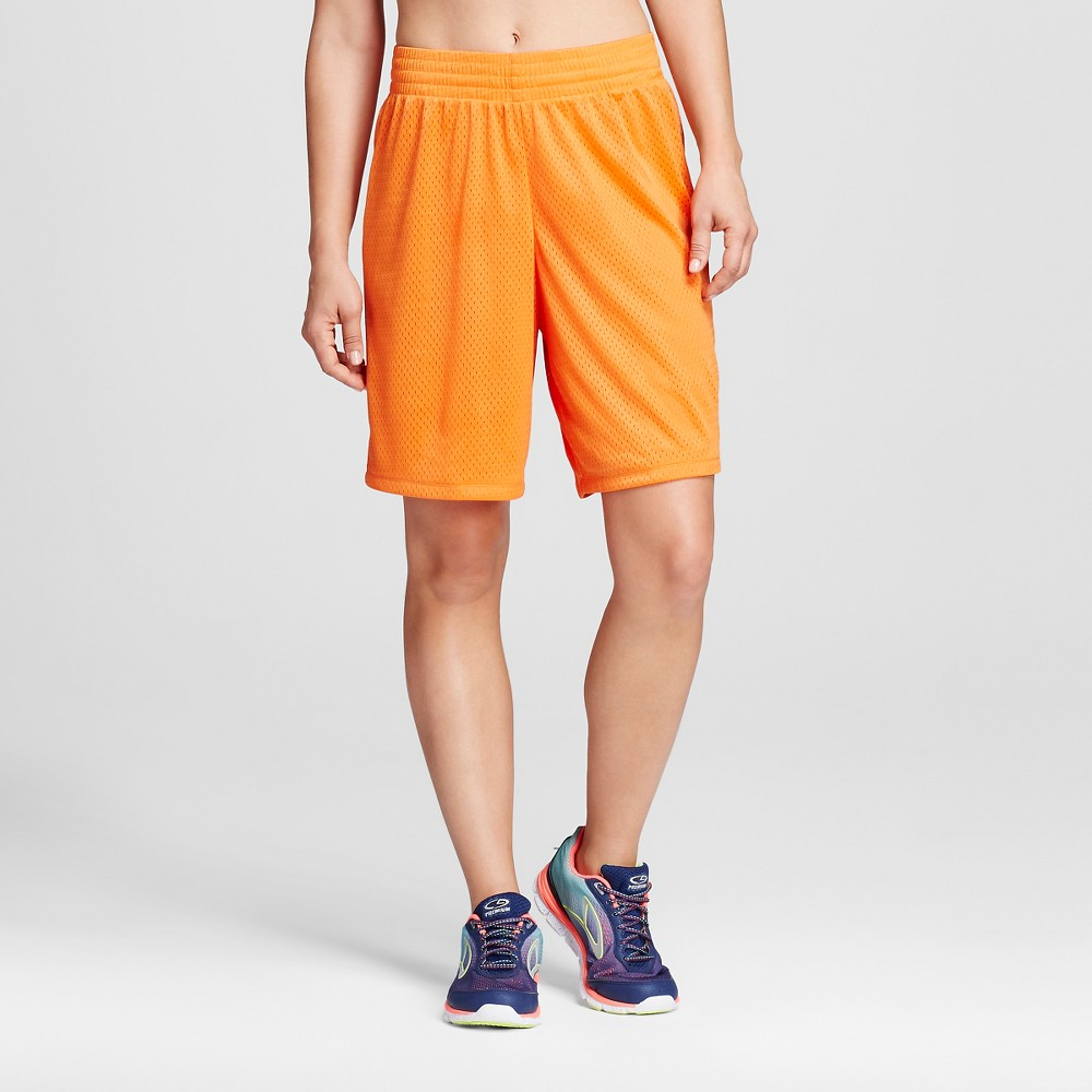 Womens Basketball Shorts Team - C9 Champion Orange M