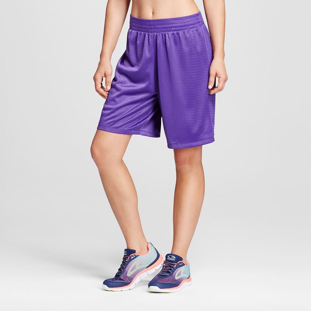 Women's Basketball Shorts - C9 Champion Purple L