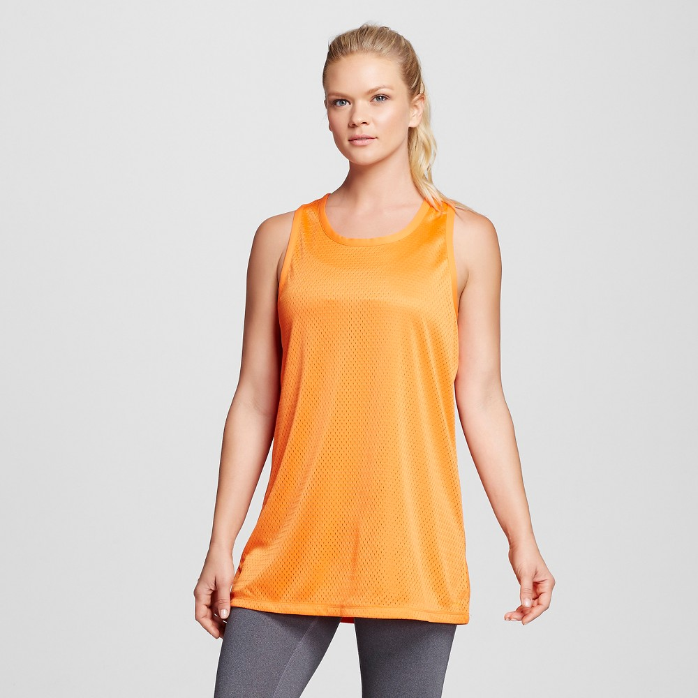 Womens Basketball Tank Top Team - C9 Champion Orange XS