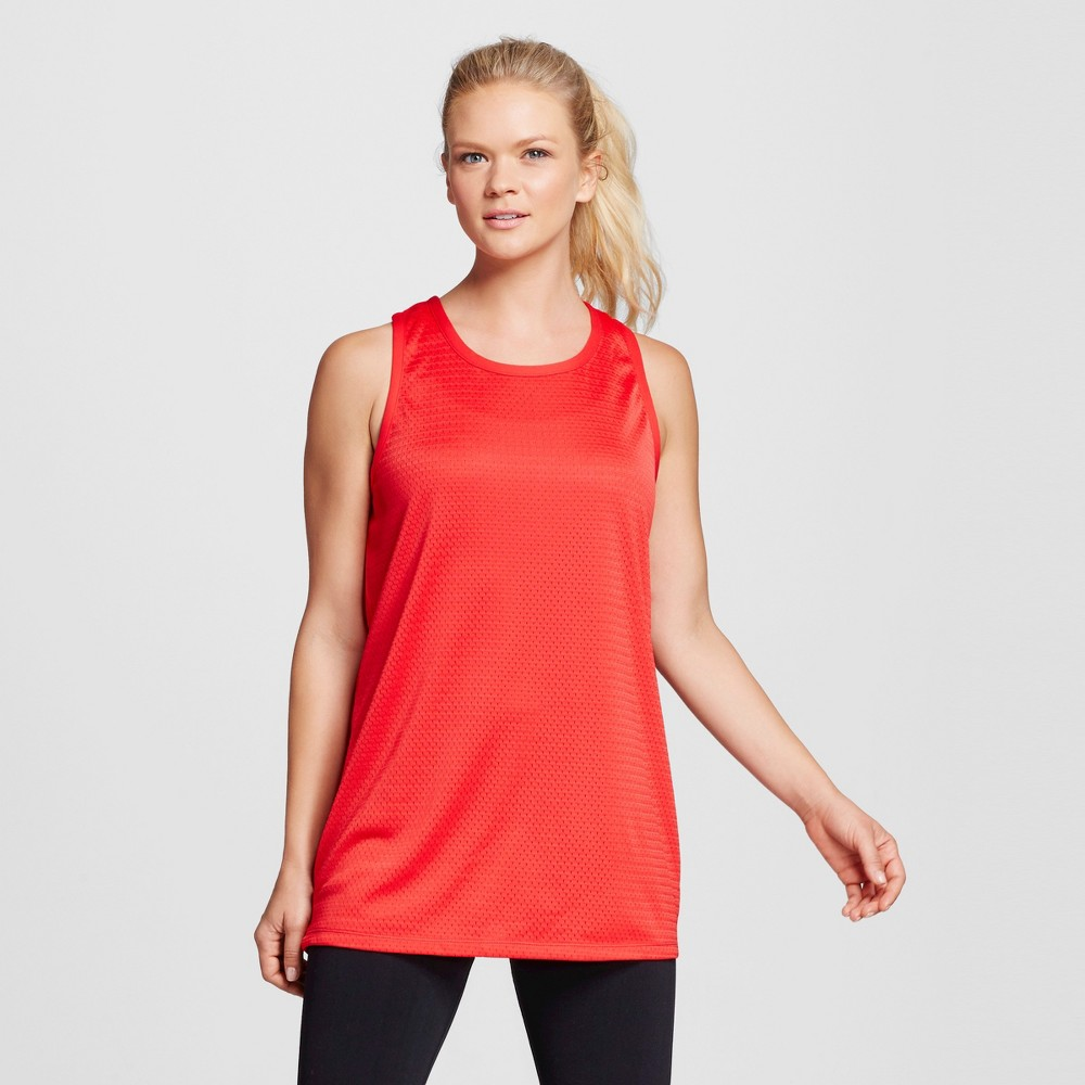 Womens Basketball Tank Top - C9 Champion Scarlet Red L