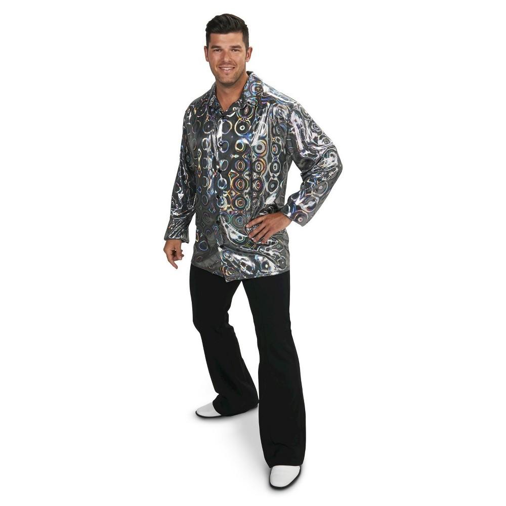Plus Size Disco Shirt Women's Plus Costume 1X,  Multi-Colored plus size,  plus size fashion plus size appare
