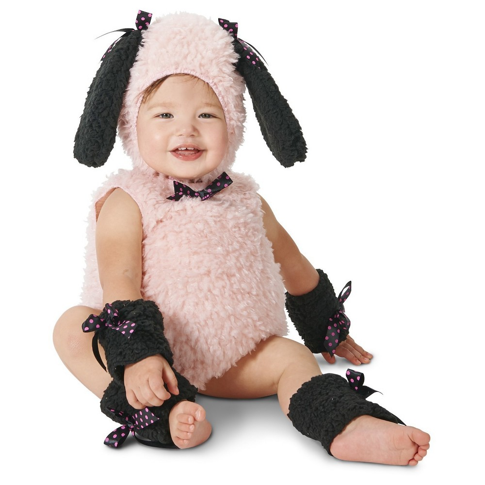 Mod Puppy Baby Costume 12-18 Months, Infant Unisex, Size: 12-18 M, Pink