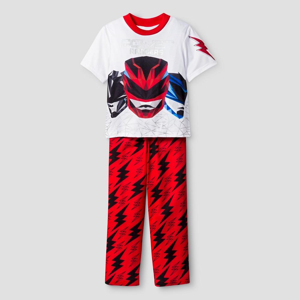 Pajama Sets Power Rangers Red S, Boy's