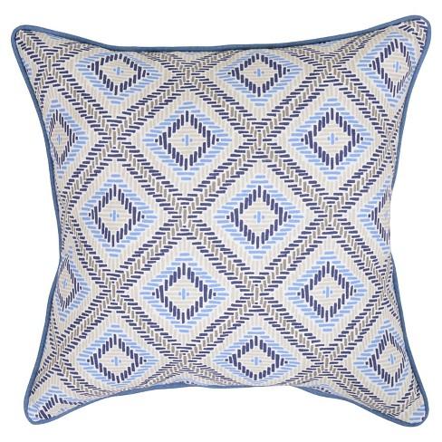 Target Blue Decorative Pillow : 18