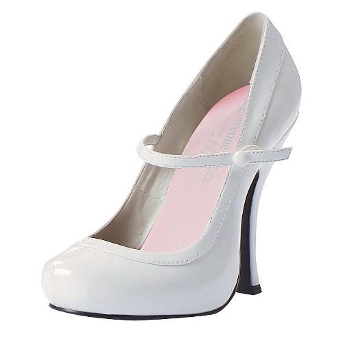 Halloween Women's Babydoll White Shoes Size 8