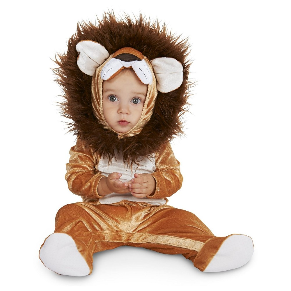 Sweet Lion Toddler Costume 2T-4T, Toddler Unisex, Brown