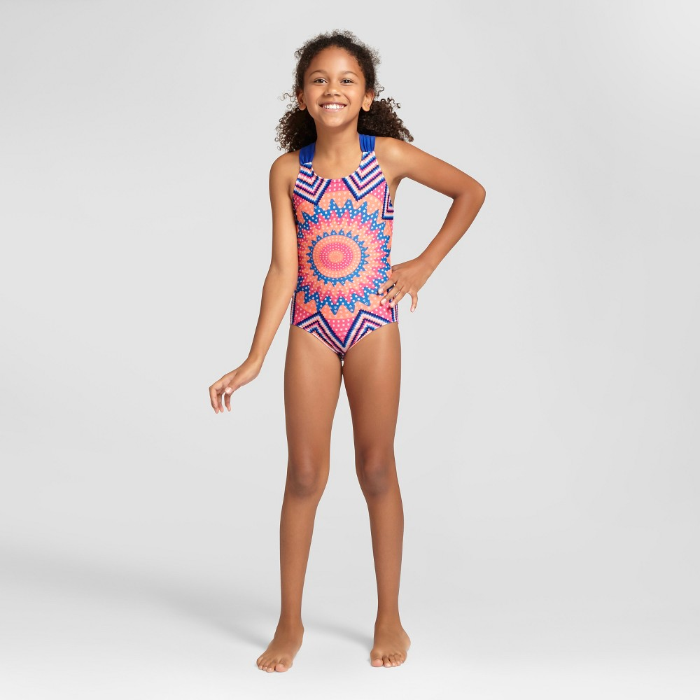 Girls One Piece Swimsuit - Cat & Jack Blue XS