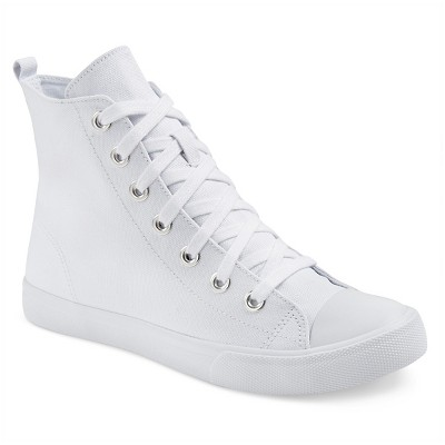 Women's Lux High Top Sneakers - Mossimo Supply Co.™ White 11