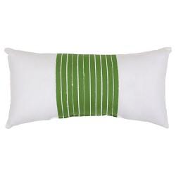 Lumbar Pillow - Green Stripe - Threshold™